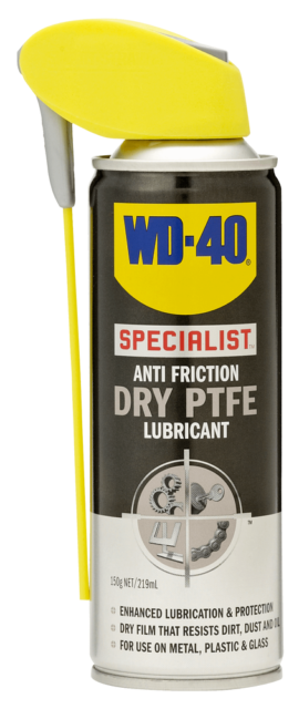 WD-40  SPECIALIST ANTI FRICTION DRY PTFE LUBRICANT 150G/219ML