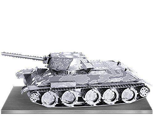 3D METAL MODEL KIT RUSSIAN T-34 TANK BRAND NEW /& SEALED!! METAL EARTH