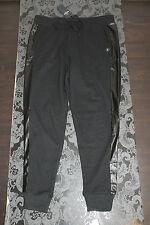TOP HOLLISTER Damen Sweatpants Größe S Schwarz glänzend Neu mit Etikett