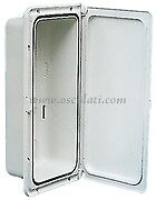 Watertight White Boat Storage Locker Glove Box Cupboard Sailing Cabin   LOCK150