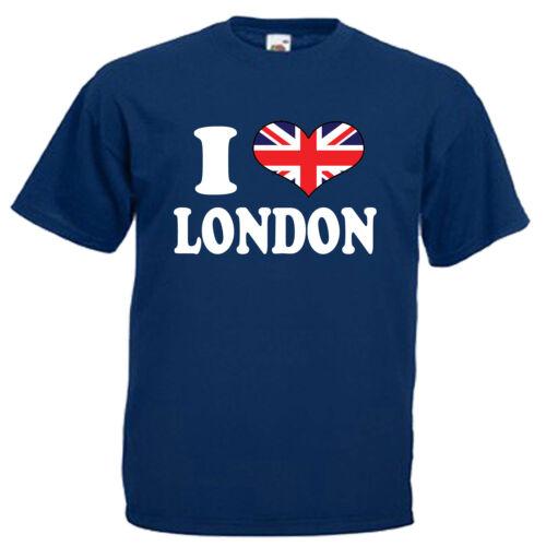 I Love Heart London Children/'s Kids Childs T Shirt