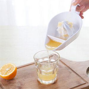 Plastique Cuisine Fruit Outil Manual Juicer Presse Citron vert Agrumes 6hk
