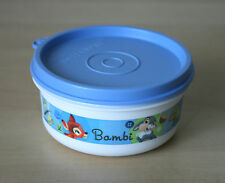 Tupperware Disney Bambi Snack Cup Bowl 7 oz. Container New
