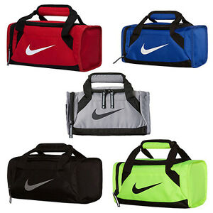 Image Is Loading Nike Small Mini Duffel Lunch Tote Bag Back