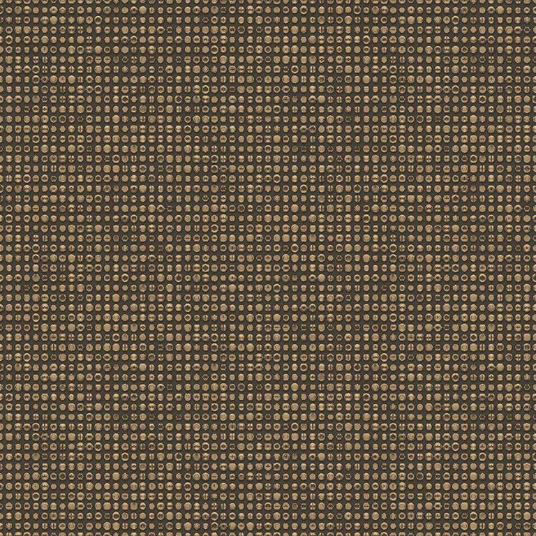 Essener Tapete Grunge G45363 Vis Rivets or black Papier-Peint