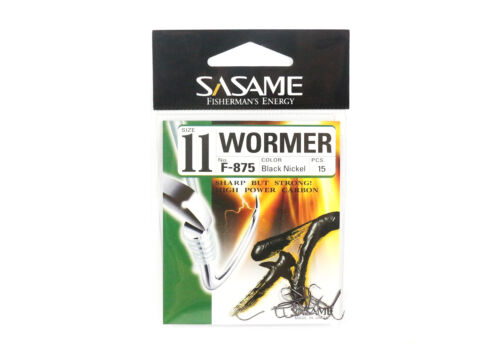 6695 Sasame F-875 Wormer Bait Hook Size 11