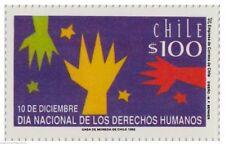 Chile 1992 #1598 Dia Nacional de los Derechos Humanos MNH