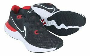 Nike-Men-Renew-Run-Shoes-Running-Black-Red-Athletic-Sneakers-CK6357-005-10-5