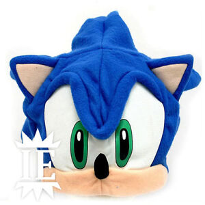 Sonic The Hedgehog Hat Cosplay Hat Chapeau Cap Plush Hat Nintendo Ebay