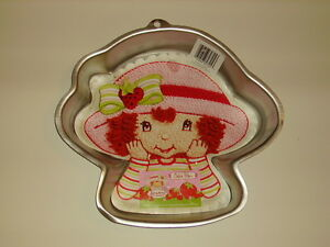 Home & Garden Wilton Strawberry Shortcake Girls Party Cake Pan Mold & Instructions #2105-7040