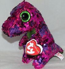 39c56e9365a Ty Flippables Stompy The Dinosaur Changing Sequins 6