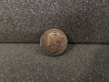 3 Mercury Dimes (1940-S, 1941-S, 1945) with Nice Toning