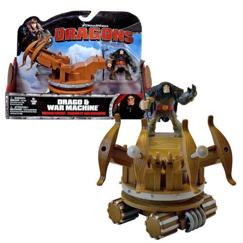 Drago und seine KriegsmaschineDreamWorks DragonsAction Spiel Set