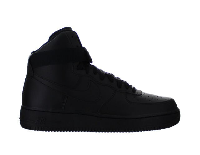 low priced 2aabb 5cb9f Mens Nike Air Force 1 High  07 Black 315121-032