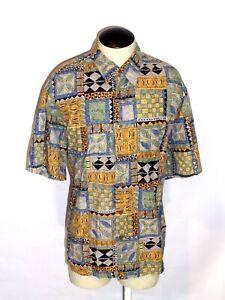 Cooke-Street-Honolulu-Hawaiian-Aloha-Cruise-Shirt-Men-039-s-X-Large