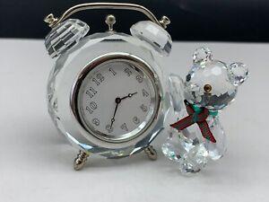 Swarovski-Figur-212687-Kris-Bar-an-Uhr-6-3-cm-Top-Zustand