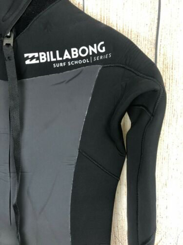 NWT 220$ Billabong Absolute 5//4mm Black surf school series Winter Wetsuit *0-10