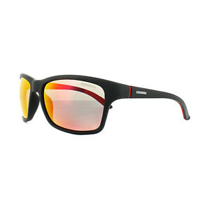 fcaf154e00f2a Carrera Gafas de Sol 8013 S DL5 oz Negro Mate Rojo Polarizadas ...