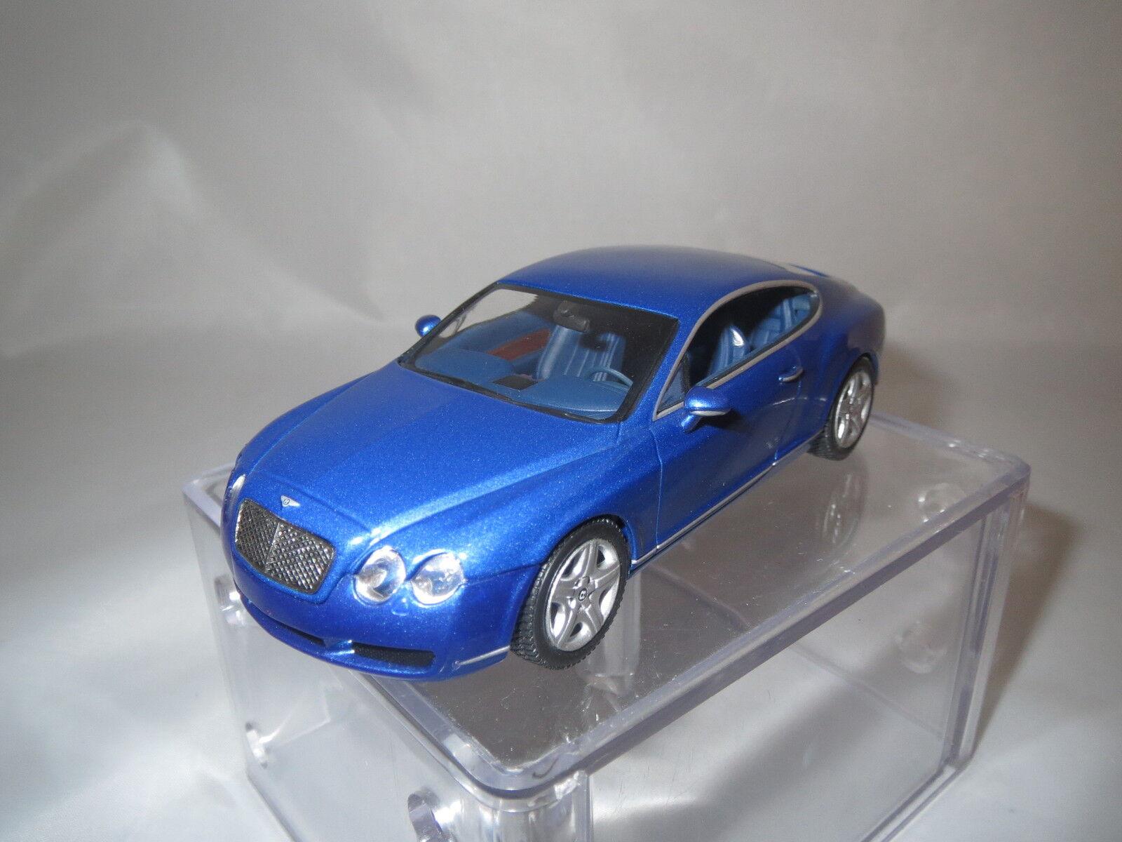 Minichamps Bentley GT  2002  (azul-metalizado) 1 43 43 43 sin embalaje  c07df8