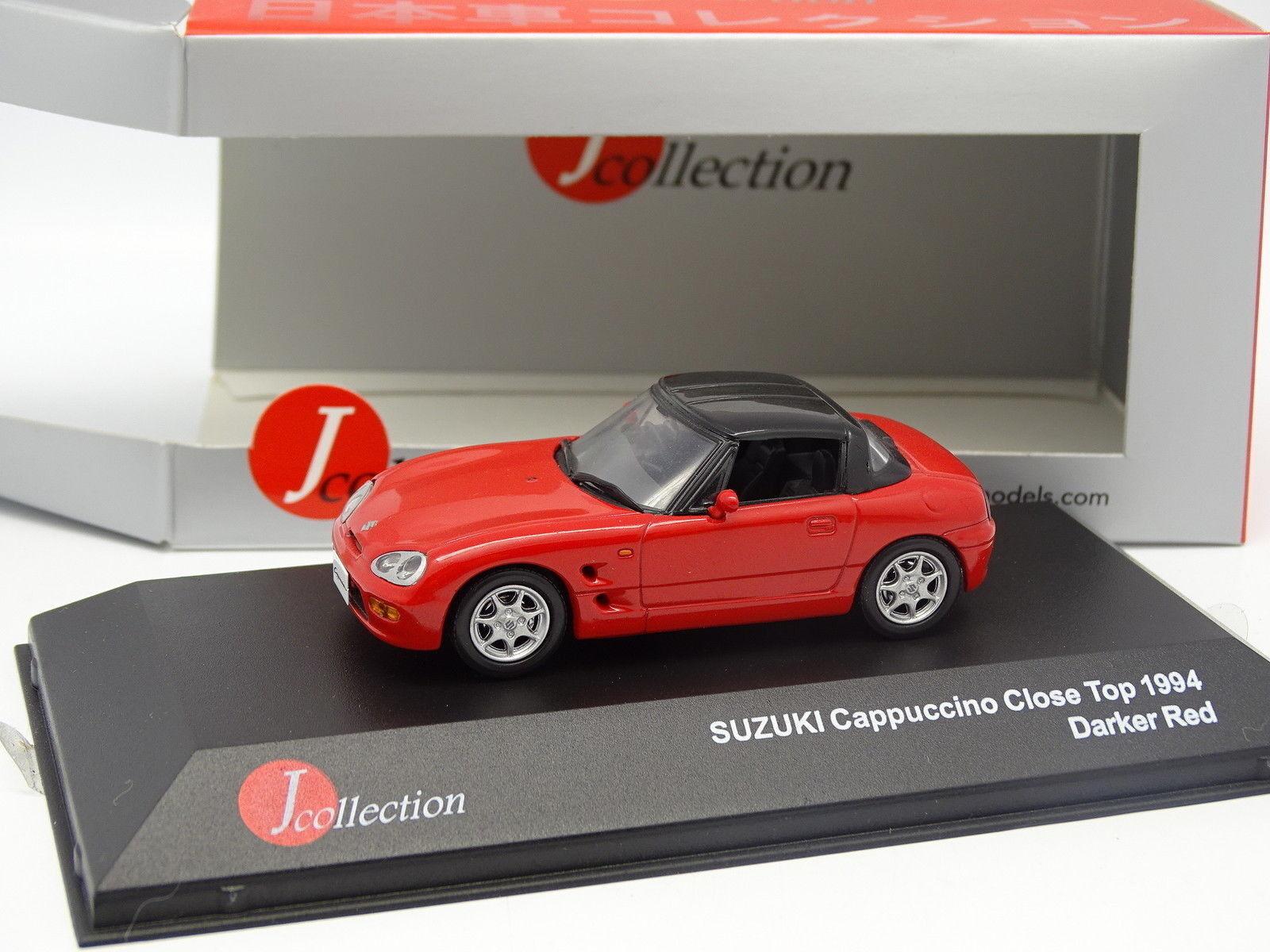 J Collection 1 43 - Suzuki Cappucino Cerrado Top 1994 red