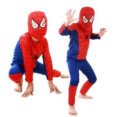Spiderman Batman Superman Niño Niño Adulto Disfraz Hombre Fiesta Cosplay Traje