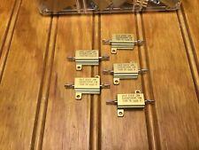5pcs Dale 91637 Jan Rer65f1000r 10w 100 Ohm 1 Precision Resistor