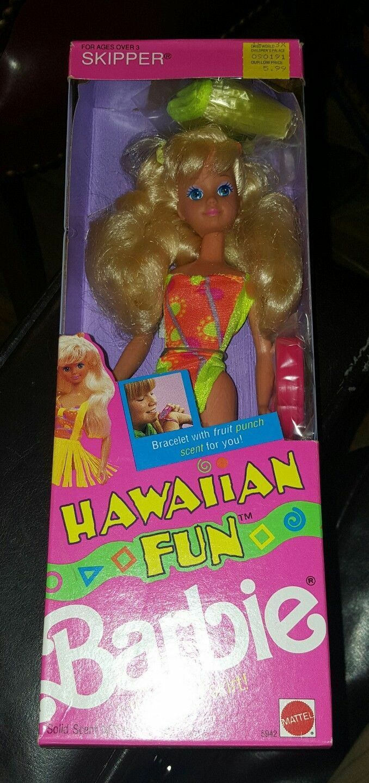 @ - BARBIE * VINTAGE 1990 * Hawaiian Fun Skipper * COLLECTORS BAMBOLA * * ISLANDA/Christie