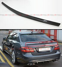 2010-2015 MERCEDES BENZ W212 E-CLASS & E63 SEDAN CARBON FIBER TRUNK SPOILER WING