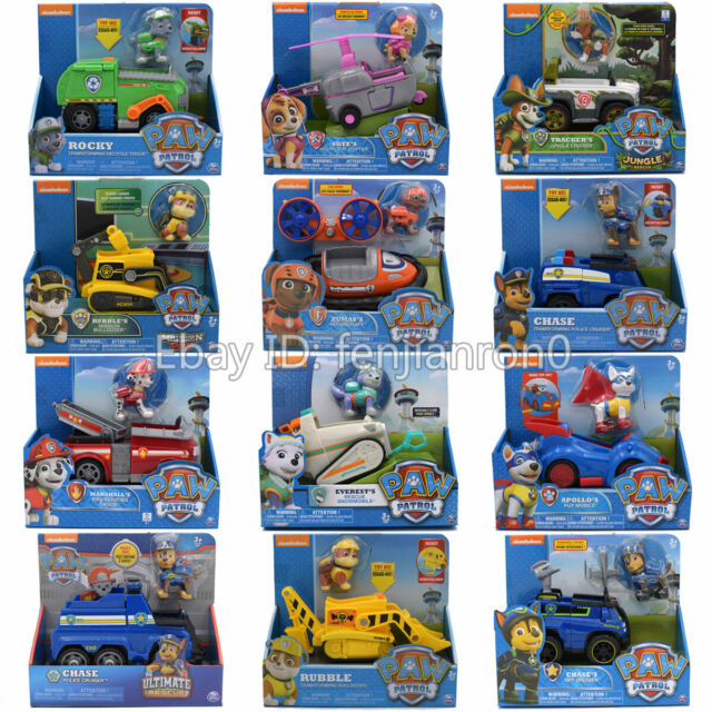 Nickelodeon PAW Patrol Dog Collection Figure Kid Toy Best Gift