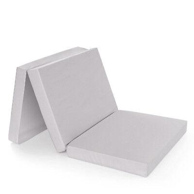 Materasso pieghevole divano letto da viaggio ripiegabile brandina 60 x 120 cm