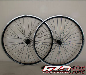Ruote-bici-CITY-TREKKING-28-034-per-pignoni-a-cassetta-KOMET-NERE-V-Brake