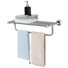 Acabado Pulido Montado en la Pared Size : 40cm LULUDP Toalleros Toallero Triple de Acero Inoxidable Sus 304 toalleros para ba/ño o Cocina con Gancho Estantes de ba/ño