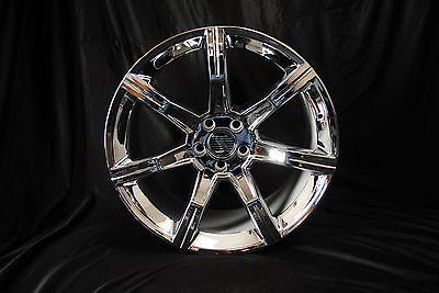 "Ford Mustang Speed Star 20 ""Chrome Wheel Set 2005 - 2012"