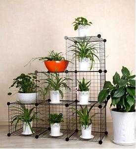 Image Is Loading Diy 3 Column Outdoor Indoor Pot Plant Stand
