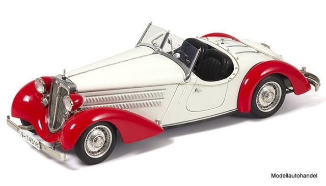Audi 225 Front Roadster 1935 rot  - CMC  M-075C 1:18  - UVP 282,00 €  >>NEW<<