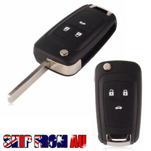Holden-Barina-Cruze-Trax-3-Button-Remote-Flip-Key-Blank-Shell-Case-Mel-stock-New