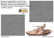 Splinter Camo Paint Masks for Russian BMPT-72 Terminator II 1:35 RAE 2013