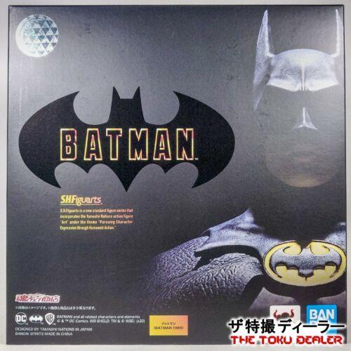 Figuarts BATMAN 1989 Action Figure BANDAI Michael Keaton TAMASHII UK NATIONS S.H