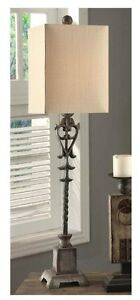 Sensational Details About Old World Tuscan Bella Iron Buffet Table Lamp Distressed Finish French Country Download Free Architecture Designs Intelgarnamadebymaigaardcom