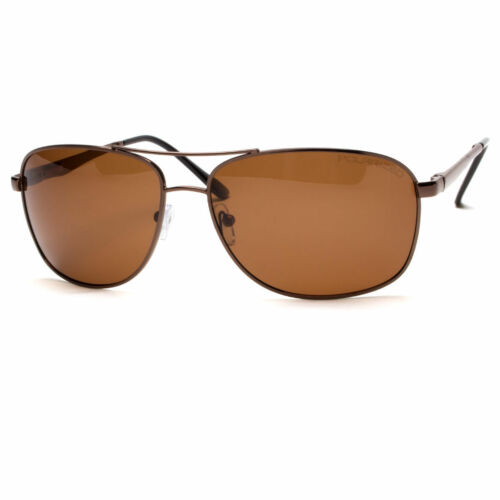 Classic Retro Men Fashion Metal Aviator Vintage Designer Polarized Sunglasses NE