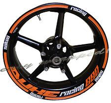KTM Duke Racing 690 - wheelsticker Felgenaufkleber Motorrad Sticker 3D Folie
