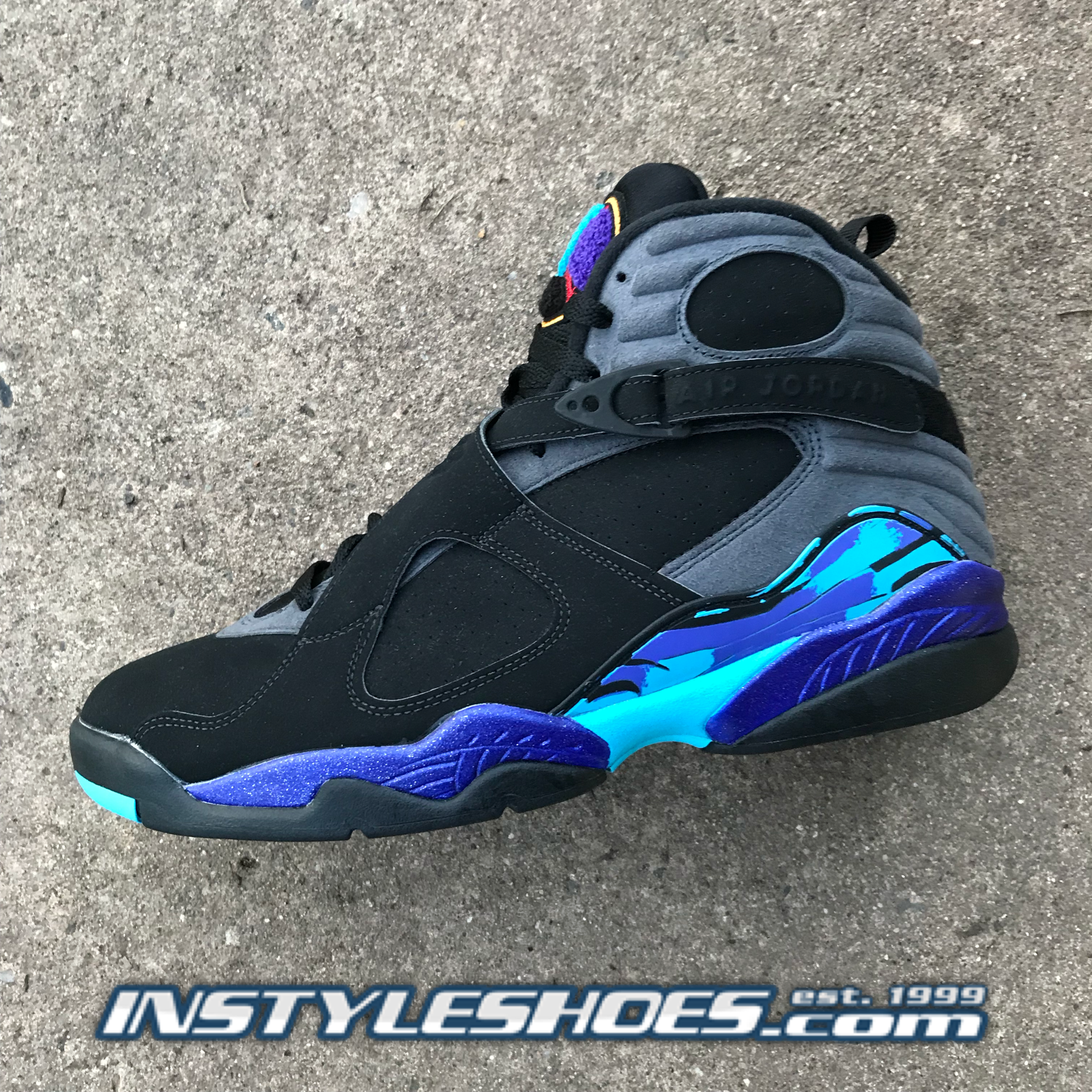 Nike Air Jordan 8 VIII Retro Aqua Aqua Aqua 2015 Remastered 305381-025 efc891
