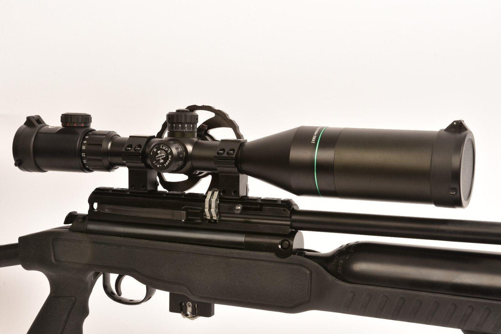 Pao ® – Esmeralda Mil-Dot 6-24 X 56 ir pa compacto  SWAT  rifle Alcance + Lente Cubre