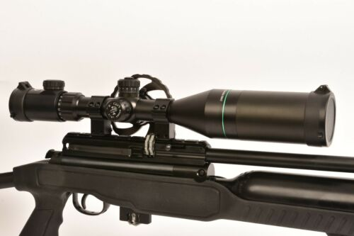 PAO ® – Emerald Mil-dot 4-16 x 56 IR PA Compact SWAT Rifle Scope + Lentille Couvre