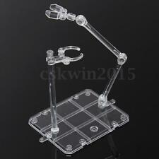 Clear Plastic Action Base Display Stand for Gundam 1/144 Figure Hook Hobby