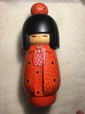 JAPANESE WOOD KOKESHI DOLL