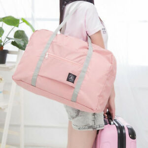 Foldable-Large-Duffel-Bag-Luggage-Storage-Waterproof-Travel-Pouch-Tote-Bag-Worth