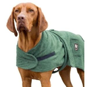 Danish-Design-Dog-Towelling-Drying-Robe-Coat-30cm-12-034-Keeps-Dogs-Warm-And-Dry