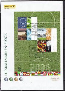 BRD-2006-Deutsche-Post-FDC-MiNr-Block-67-Fussball-WM-Deutschland