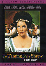 Shakespeare's  - Taming of the Shrew - Richard Burton Elizabeth Taylor (NEW) DVD